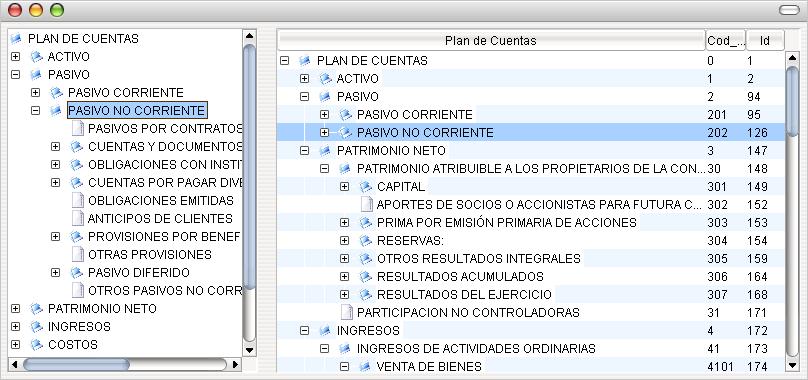 JTree dentro de JTreeTable + Mysql+Cuenta Contables (1/4)