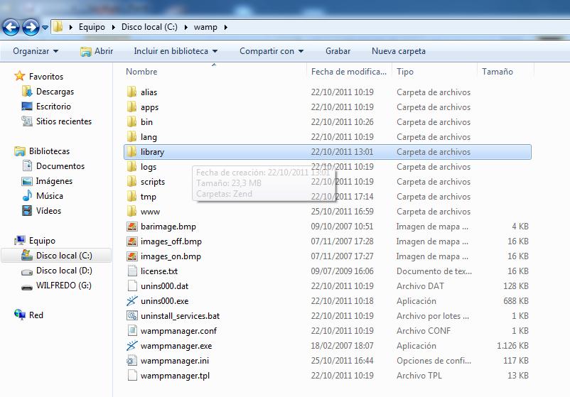 Instalar y Configurar Zend Framework con Netbeans 7.01 en Windows (2/6)