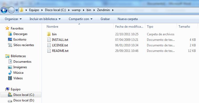 Instalar y Configurar Zend Framework con Netbeans 7.01 en Windows (1/6)