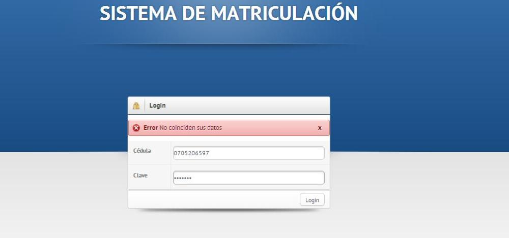SISTEMA DE MATRICULACIÓN BÁSICO CON MYSQL+PHP+JQUERY+JSON+DATATABLE (6/6)