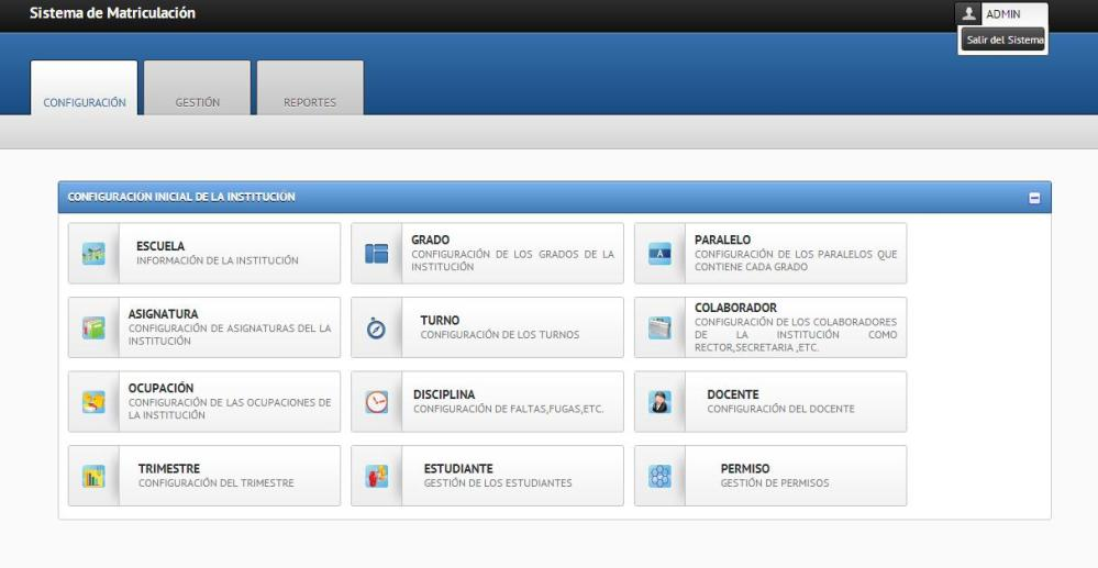 SISTEMA DE MATRICULACIÓN BÁSICO CON MYSQL+PHP+JQUERY+JSON+DATATABLE (1/6)